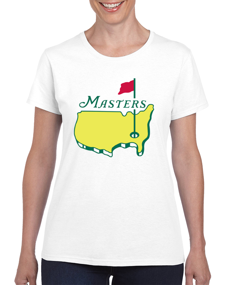 Masters Tournament Augusta National Golf Ladies White T Shirt