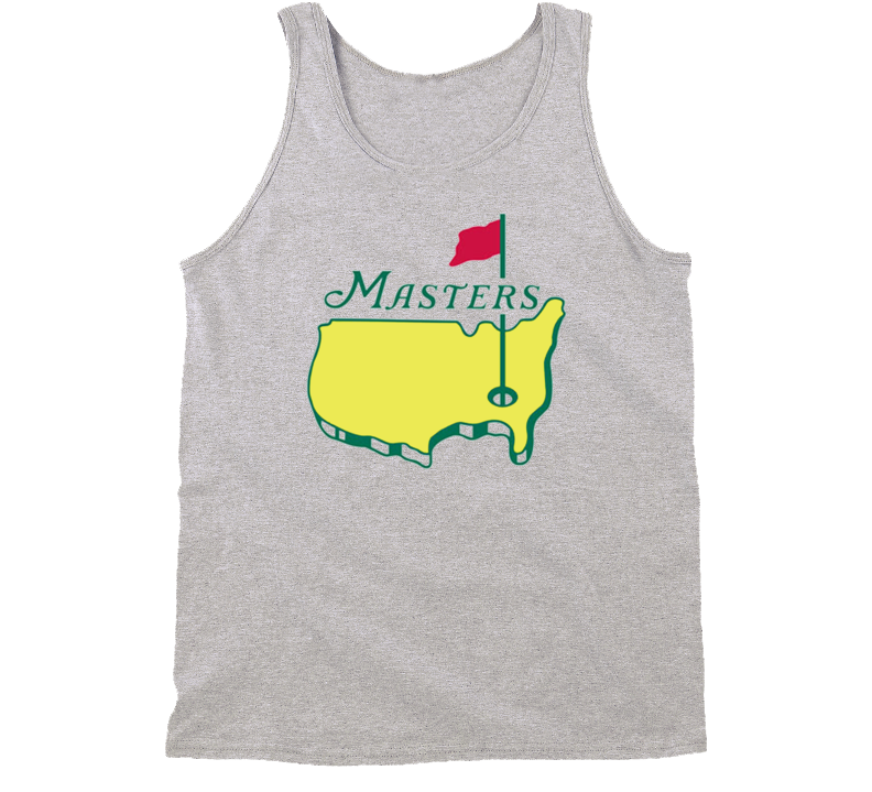 Masters Tournament Augusta National Golf Tanktop Grey