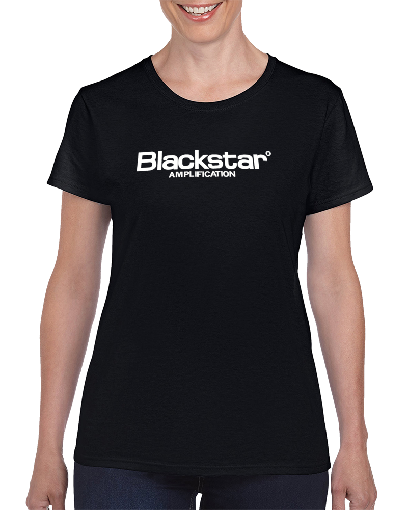 Blackstar Amp Guitar Amplifier  Ladies T Shirt