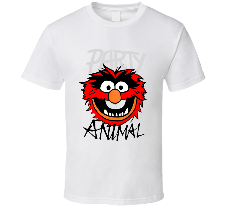Party Animal - Muppet's White T Shirt