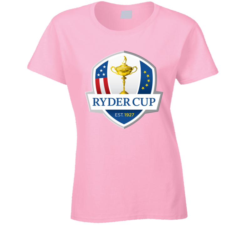 Ryder Cup Golf Golfing Black Ladies T Shirt