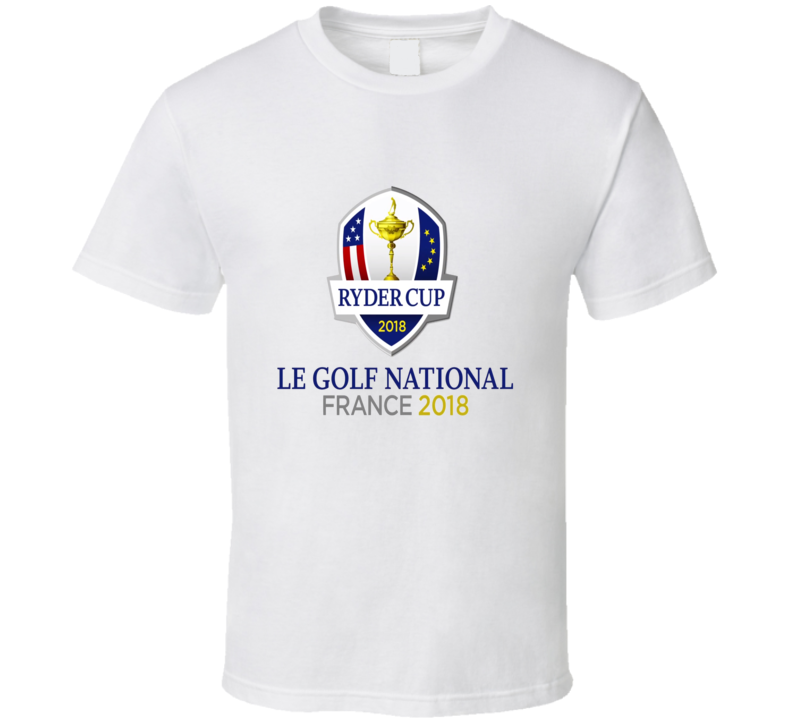 Ryder Cup Le Golf National France 2018 White T Shirt