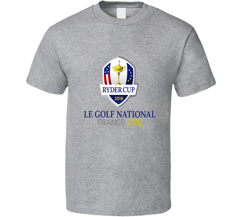 Ryder Cup Le Golf National France 2018 Sport Grey T Shirt