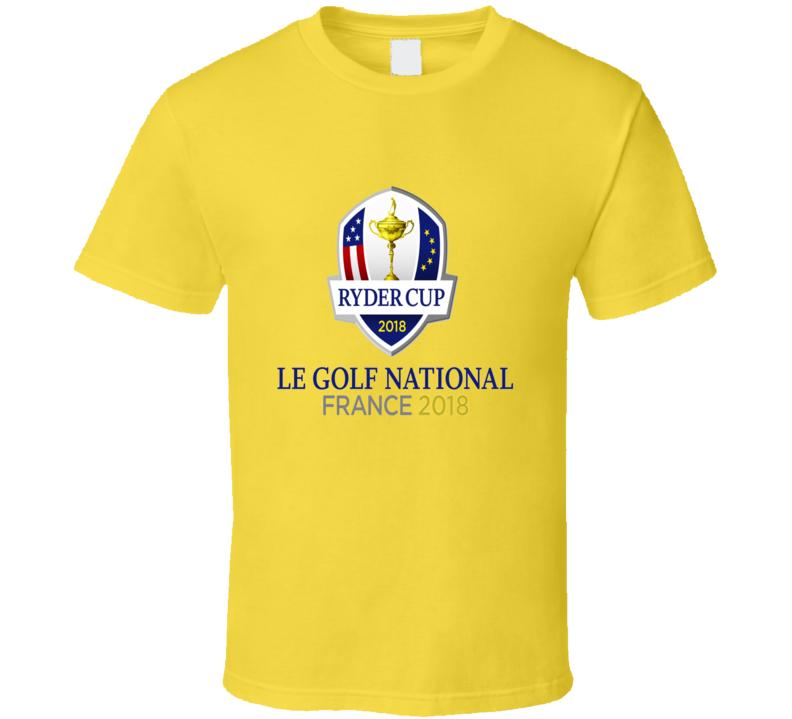 Ryder Cup Le Golf National France 2018 Daisy T Shirt