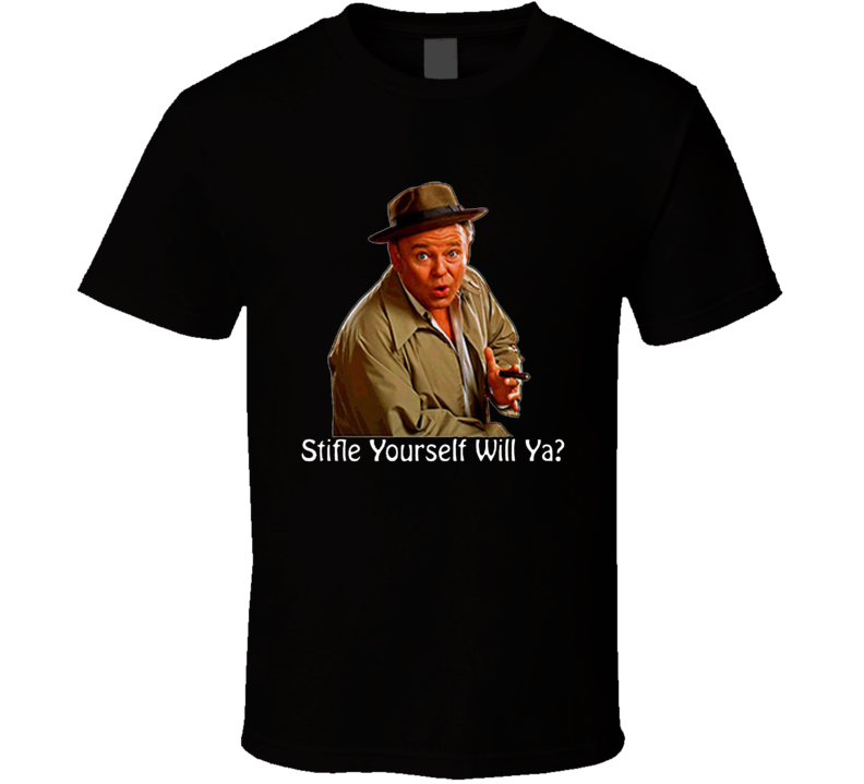 Archie Bunker Wwd All In The Family Retro Tv T Shirt