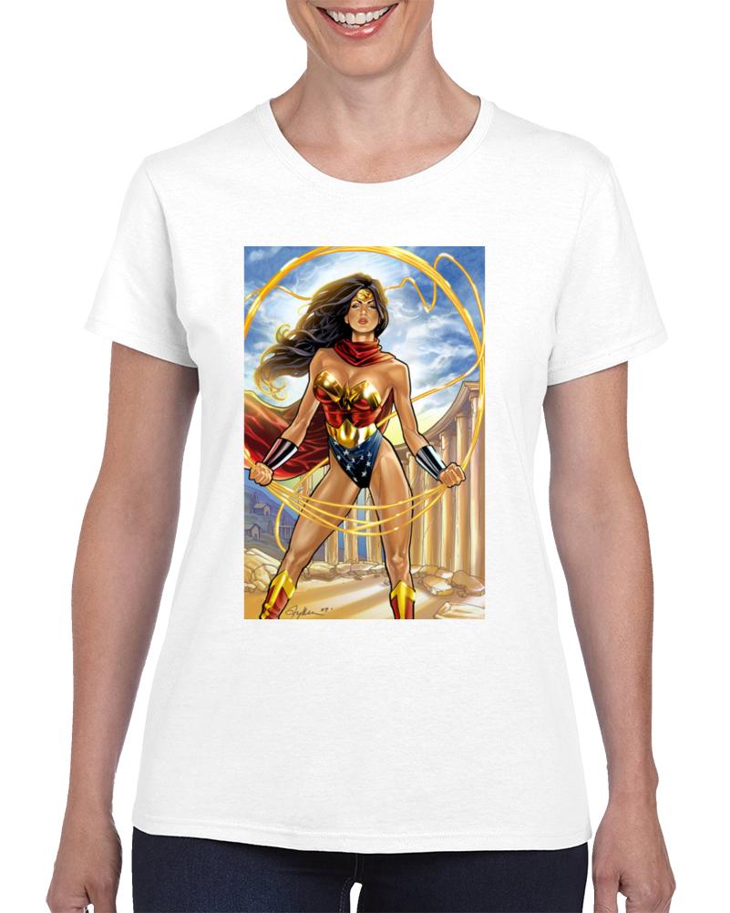 Wonder Woman Custom T Shirt