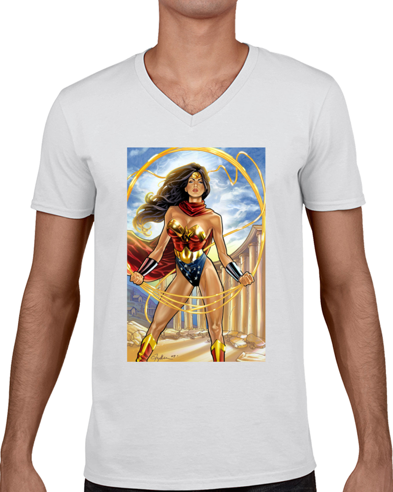 Wonder Woman Custom T Shirt