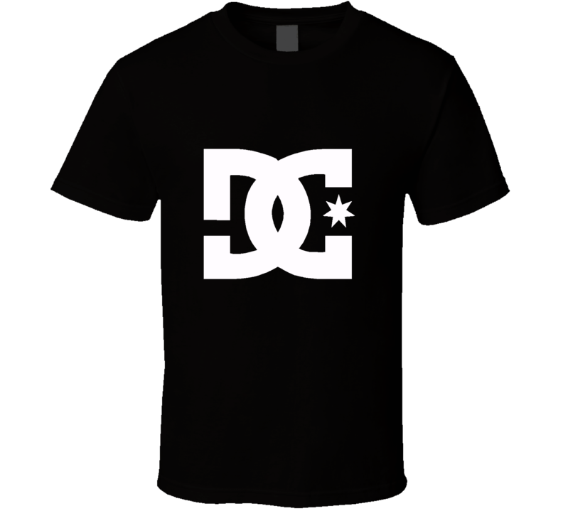Dc Shoes Logo Extreme Monster 43 Block Skate T Shirt