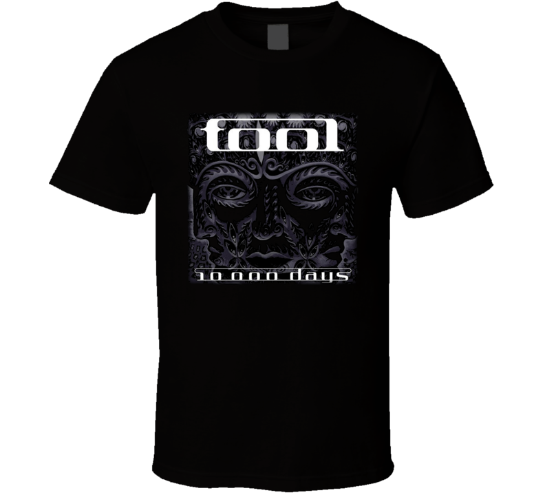 Tool 10000 Days Music T Shirt