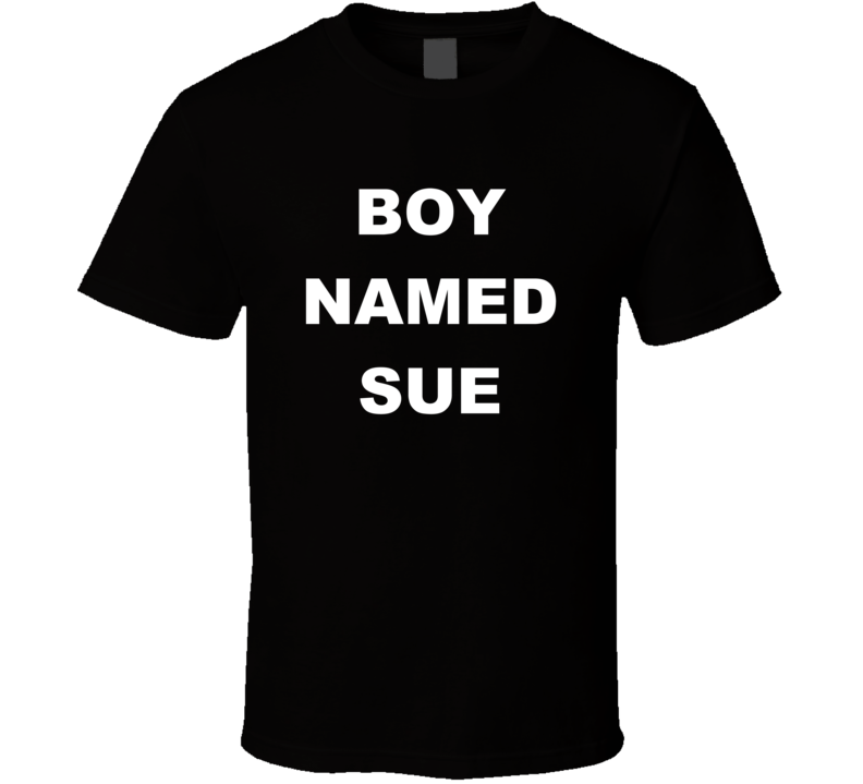 BOY NAMED SUE Ryan Dunn RIP JACKASS T Shirt