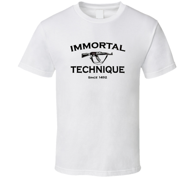 IMMORTAL TECHNIQUE T Shirt