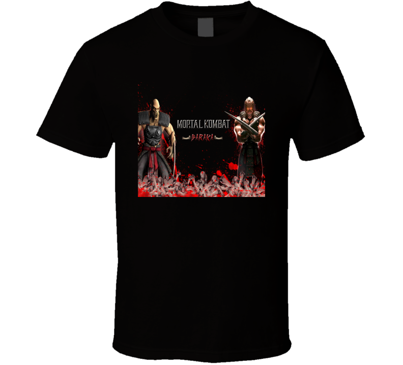 Baraka Mortal Kombat 9 Video Game T Shirt