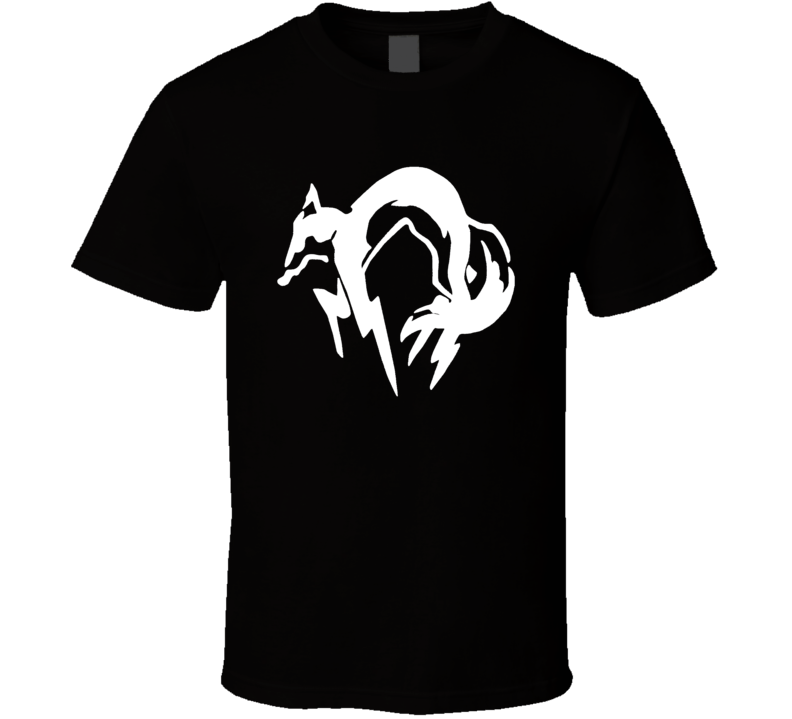 Metal Gear Solid Kojima Productions Anime T Shirt