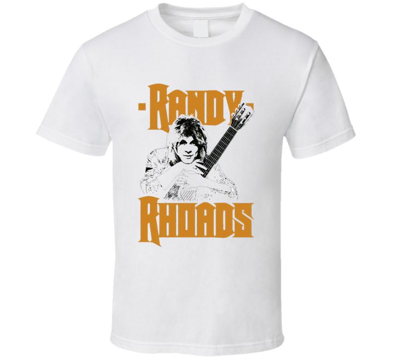 Randy Rhoads Tribute T Shirt