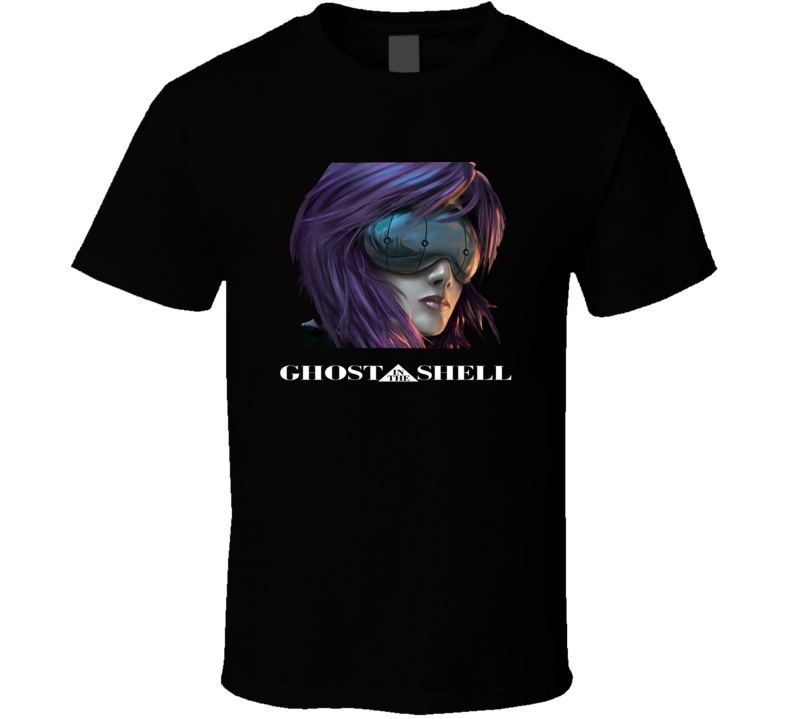 Ghost In The Shell Anime T Shirt