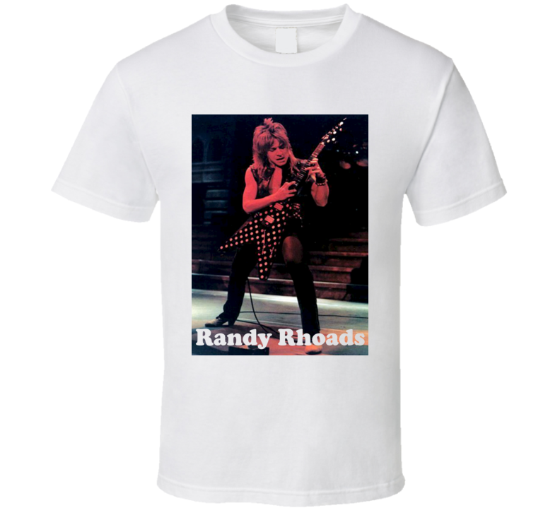 Randy Rhoads Custom T Shirt