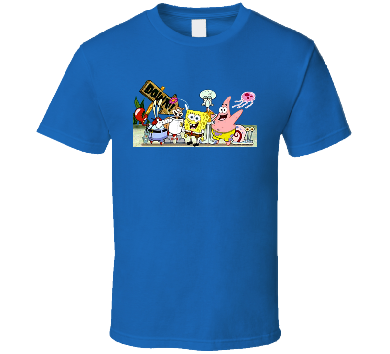 Spongebob Squarepants Cast T Shirt
