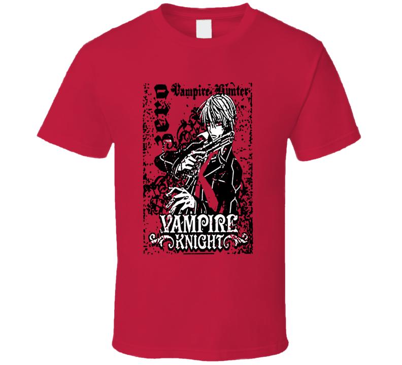 Vampire Knight Zero Anime Manga T Shirt