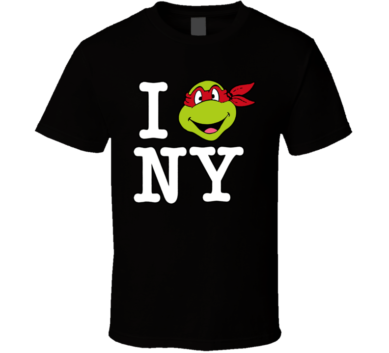 Teenage Mutant Ninja Turtles I Love Ny Raphael T Shirt