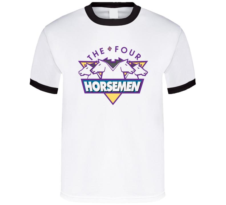Four Horsemen Retro Logo Ric Flair T Shirt