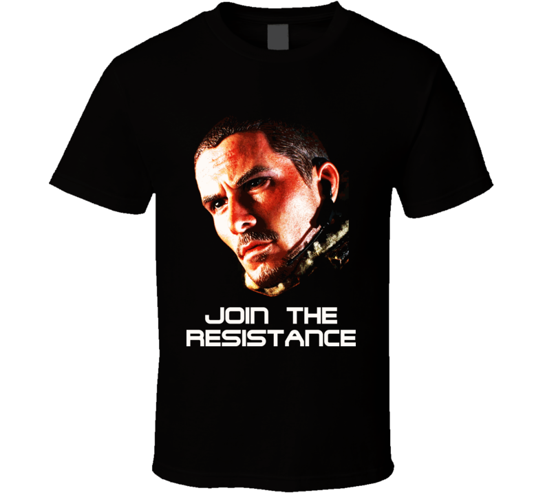 Terminator Salvation John Connor T Shirt