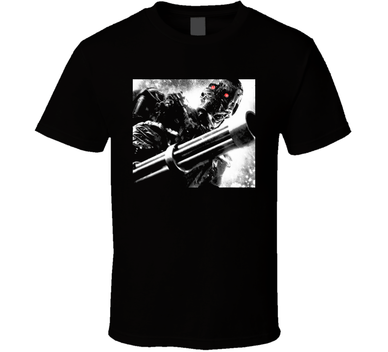 Terminator Salvation T600 Chaingun T Shirt