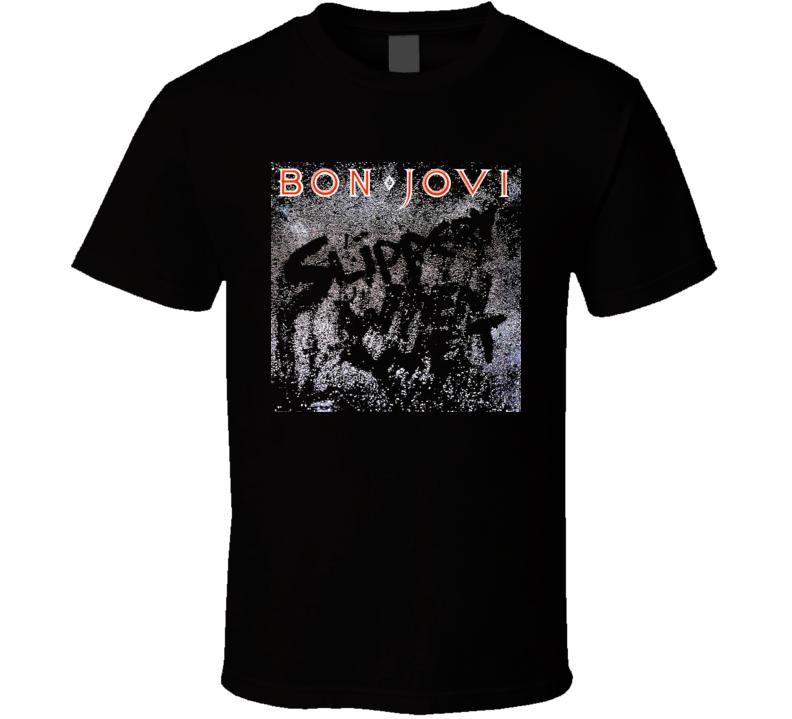 Bon Jovi Slippery When Wet T Shirt
