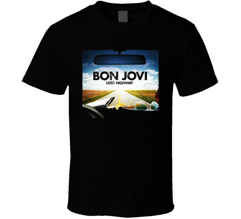 Bon Jovi Lost Highway T Shirt