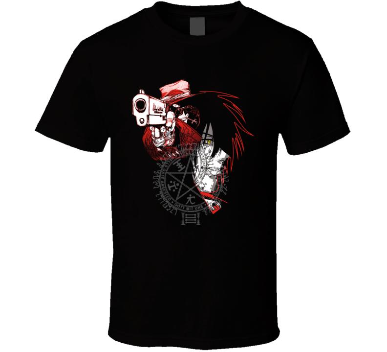 Hellsing Alucard Manga Classic T Shirt