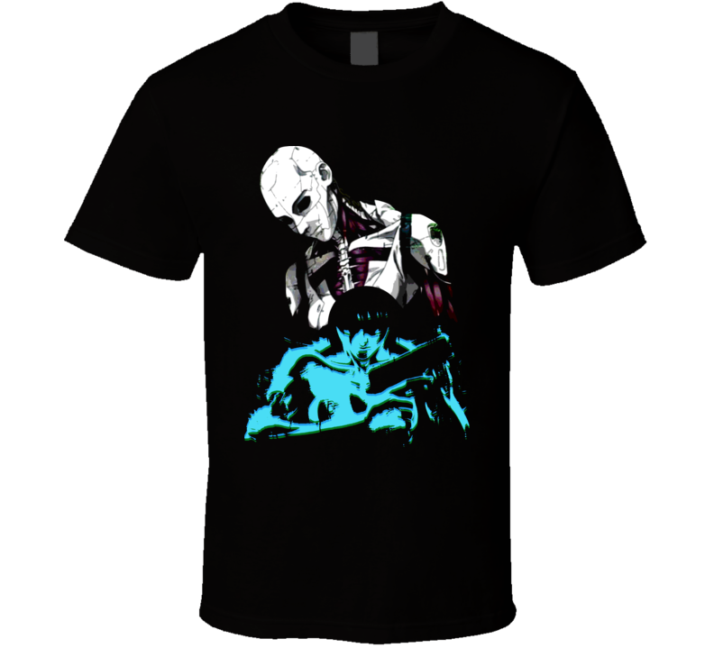 Ghost In The Shell Manga Sci Fi T Shirt