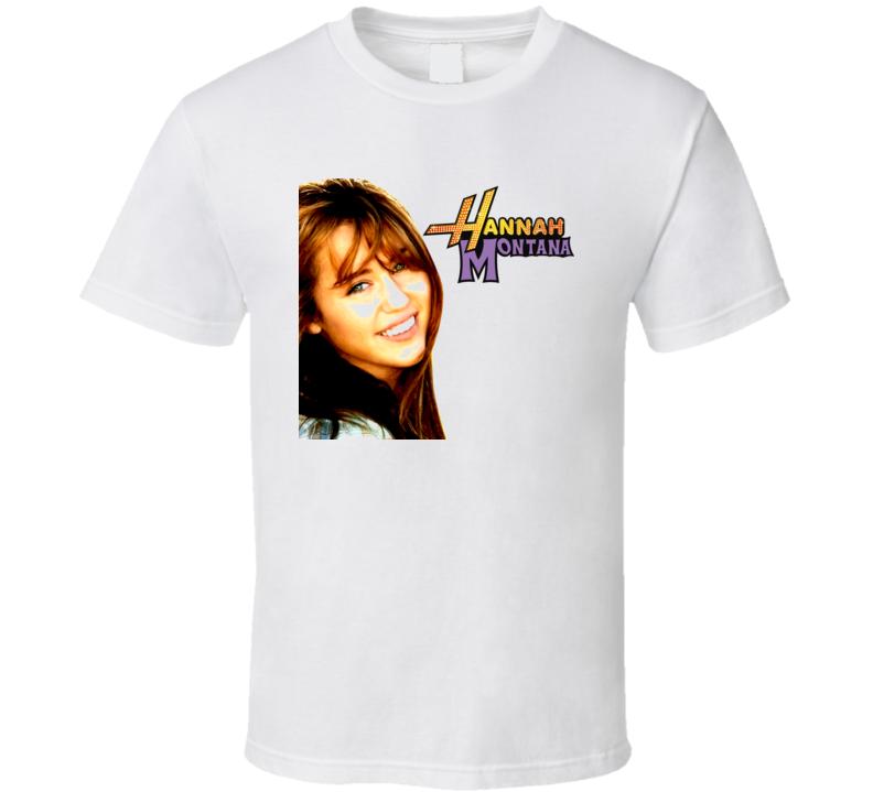 BNWT top Hannah Montana Miley CyrusTshirt  cotton brand new girls t-shirt