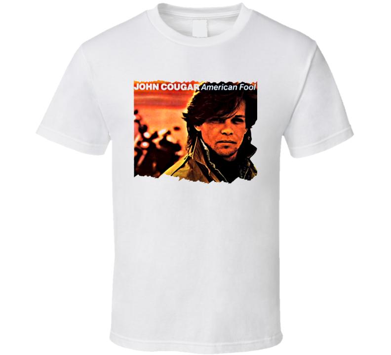 John Cougar Mellencamp American Fool T Shirt