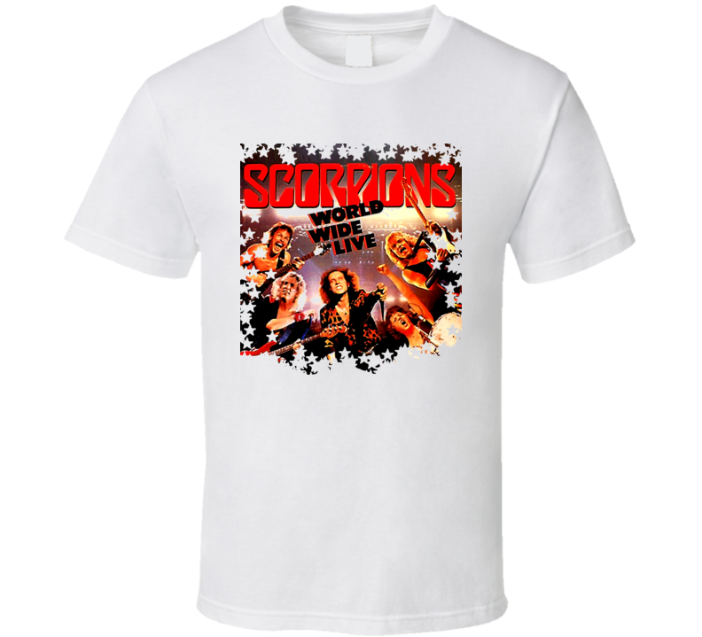 Scorpions World Wide Live T Shirt