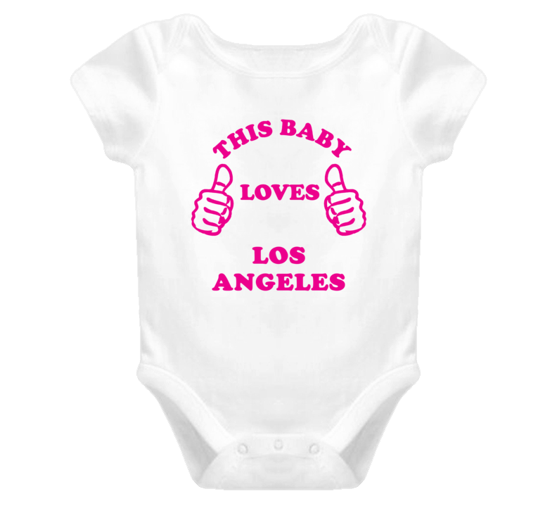 Los Angeles USA This Girl Loves Baby One Piece