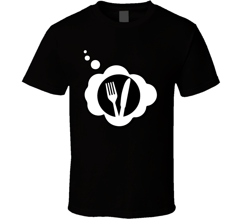 I Dream Of Competitive Eating Sports Hobbies Thought Bubble Fan Gift T Shirt
