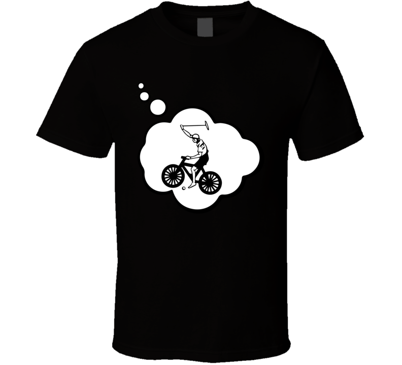 I Dream Of Cycle Polo Sports Hobbies Thought Bubble Fan Gift T Shirt