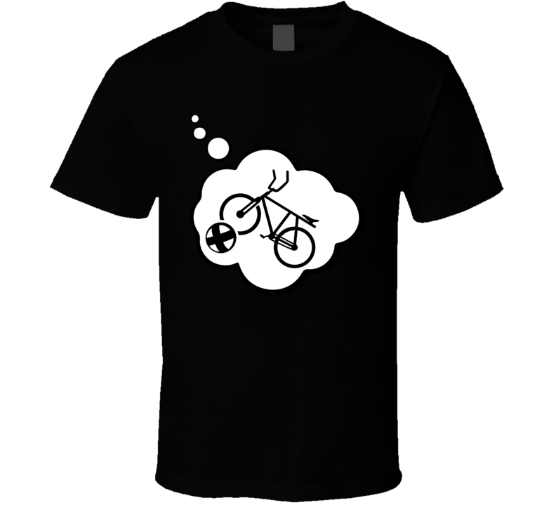 I Dream Of Cycle Ball Sports Hobbies Thought Bubble Fan Gift T Shirt