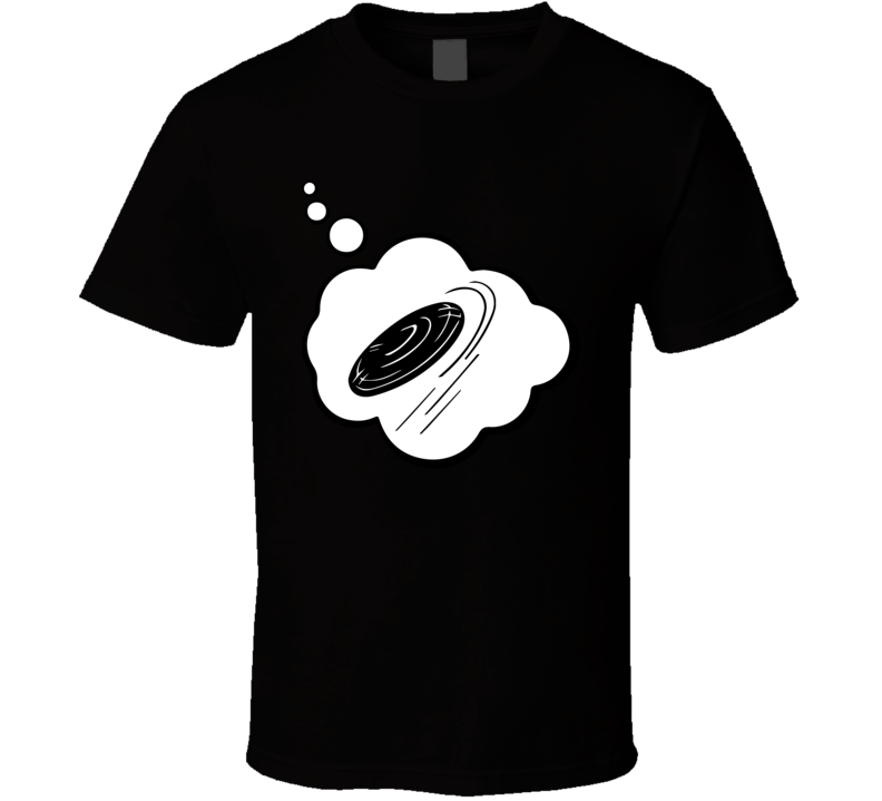 I Dream Of Dodge Disc Sports Hobbies Thought Bubble Fan Gift T Shirt