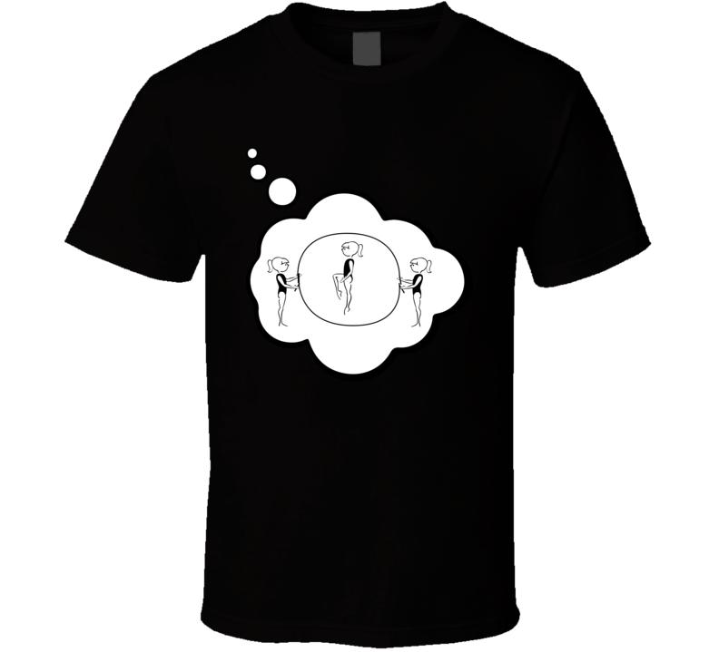 I Dream Of Double Dutch Sports Hobbies Thought Bubble Fan Gift T Shirt
