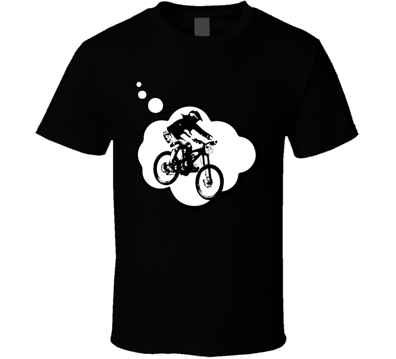 I Dream Of Freeride Sports Hobbies Thought Bubble Fan Gift T Shirt