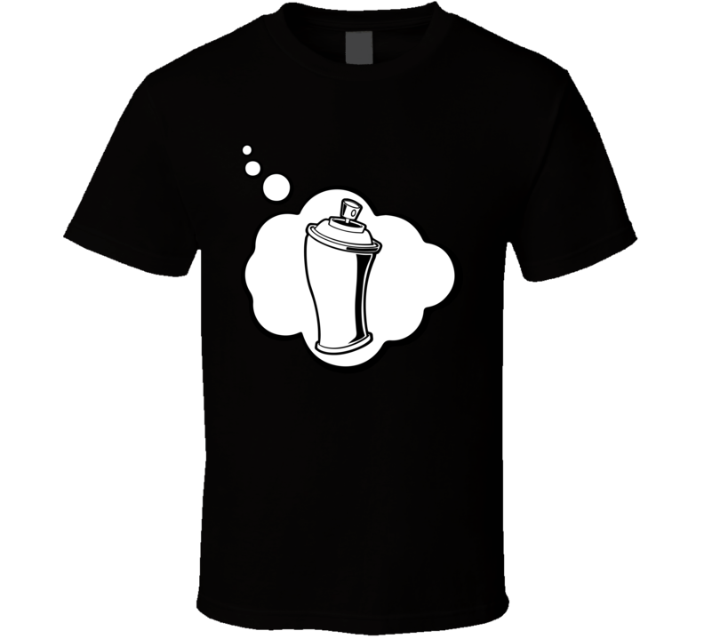 I Dream Of Graffiti Sports Hobbies Thought Bubble Fan Gift T Shirt