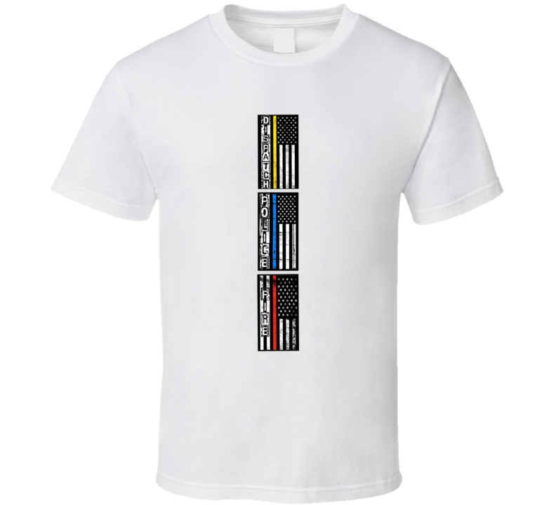 ef3362aed Dispatch Police Fire Rescue T Shirt