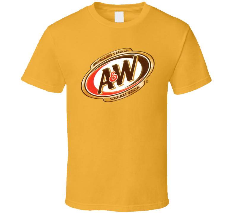 A Amp W Cream Soda Best Soda Pop Fan Essential T Shirt