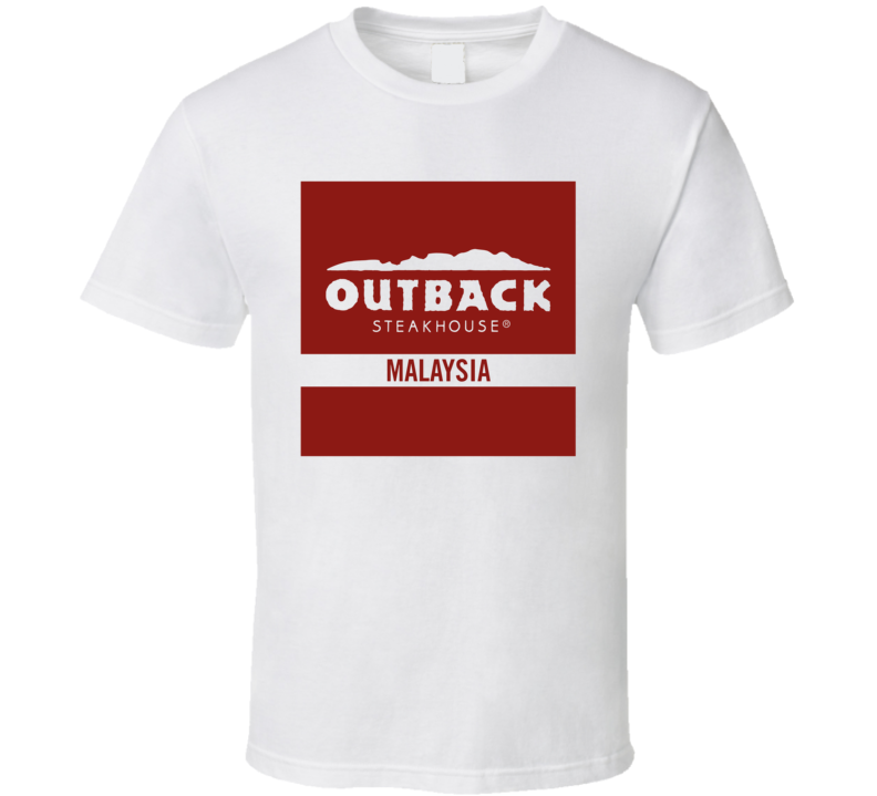 Alstyle Outback Steakhouse Cool Bread and Breakfast Fast Food Lover T Shirt Unisex Tshirt
