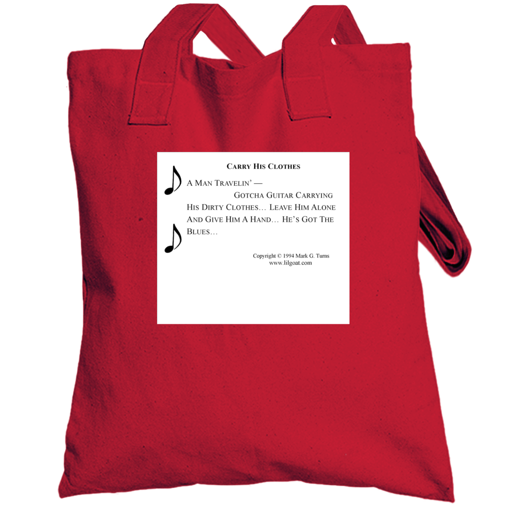 Carry His Clothes Totebag