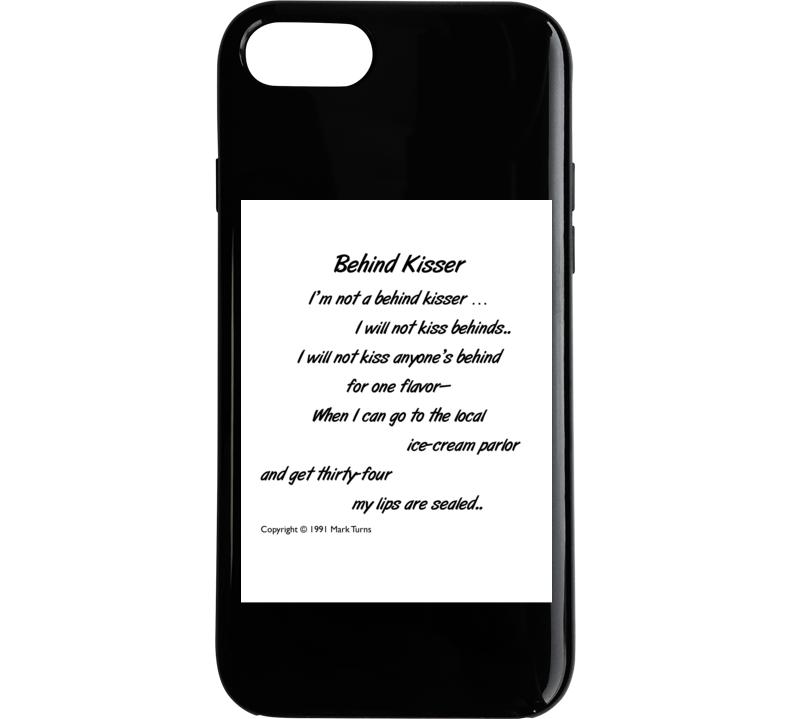 Behind Kisser Phone Case