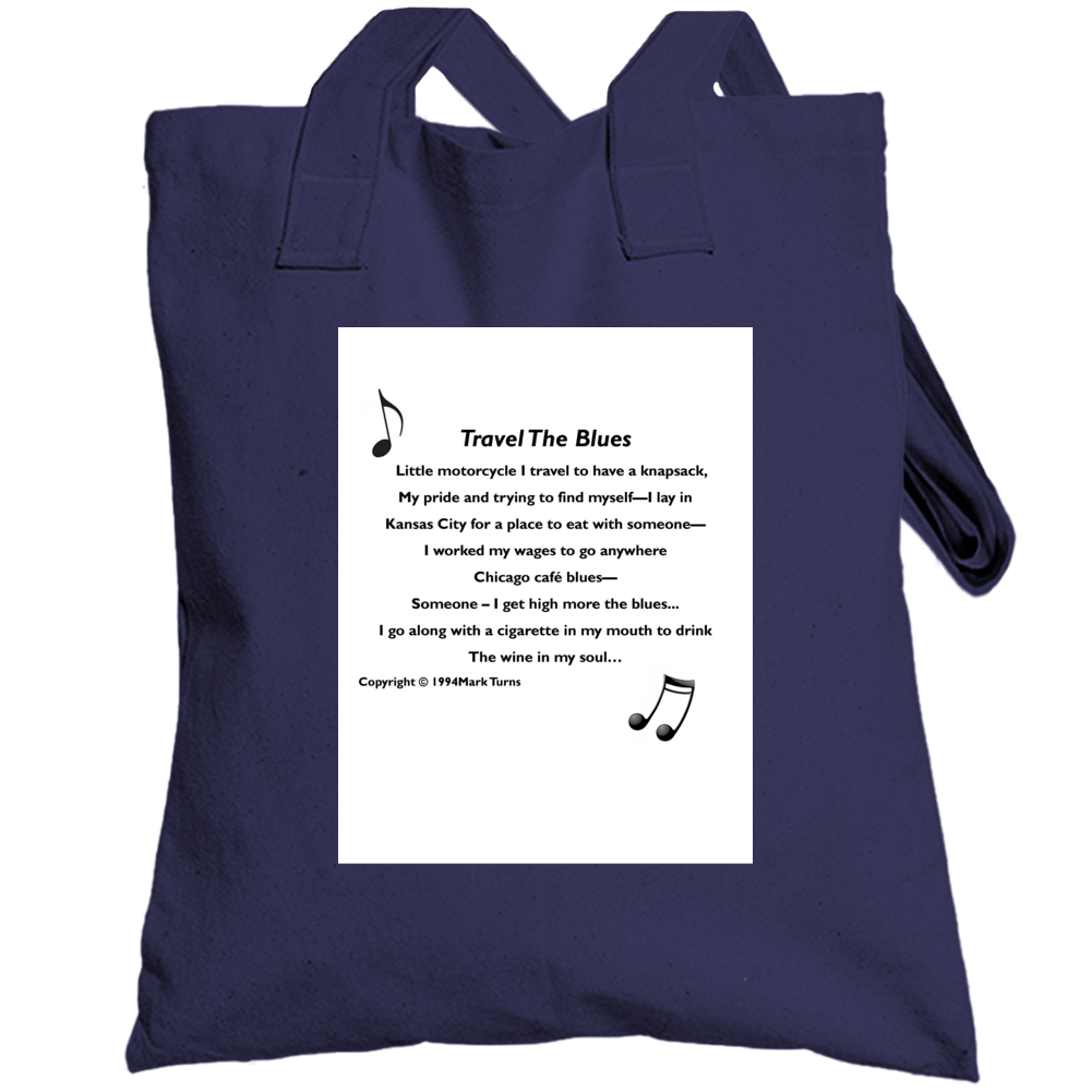 Travel The Blues Totebag