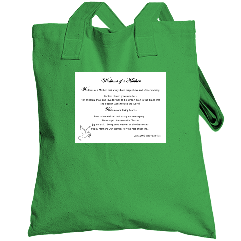 Wisdoms Of A Mother Totebag
