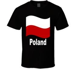 Polish Flag v.1 T Shirt