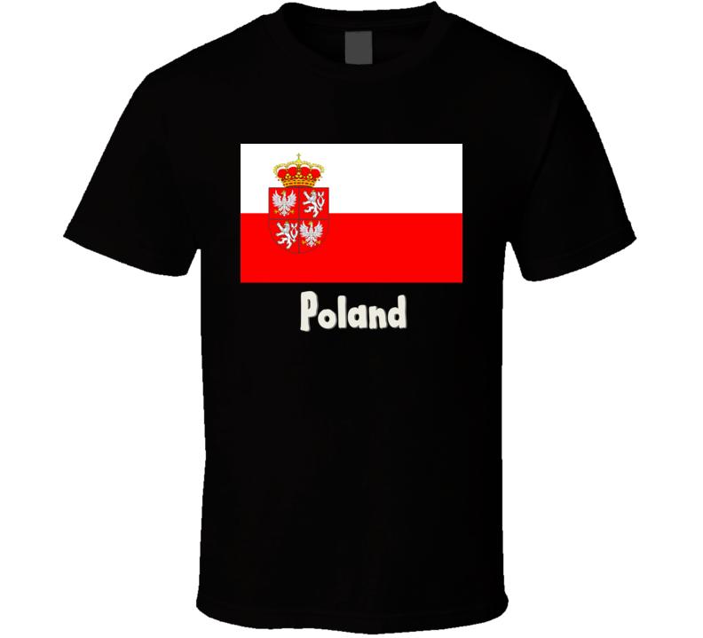 Poland Flag T Shirt